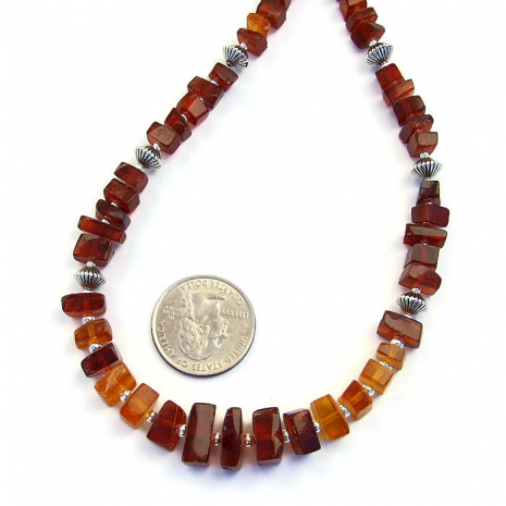 Amber necklace gift idea for women.
