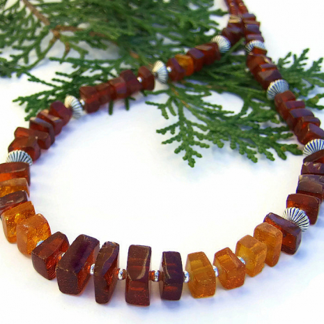 Amber jewelry for women.