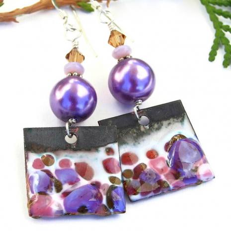 artisan handmade earrings gift for her