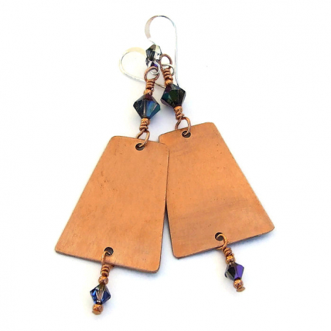 backside of frida kahlo earrings