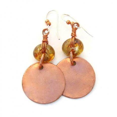 backside of bird earrings