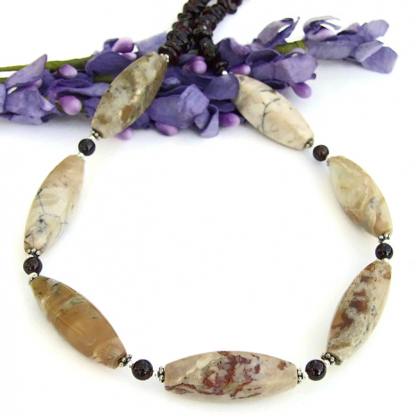 gemstone necklace for women Mothers Day