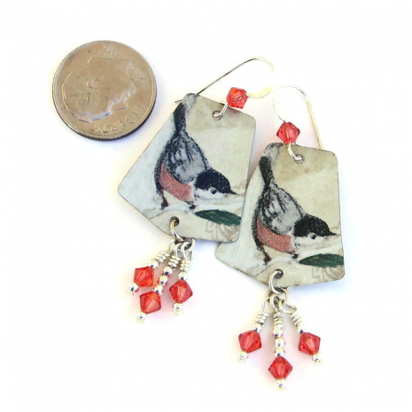 bird jewelry gift for birder