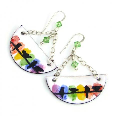 bird lover jewelry gift for women
