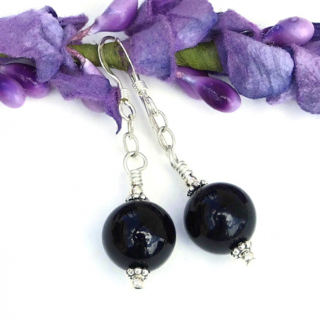 Black onyx jewelry for women