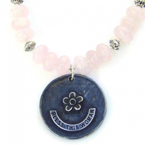 Blessed Virgin Mary pendant necklace