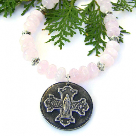Bless This Woman pendant necklace - jewelry gift for women.