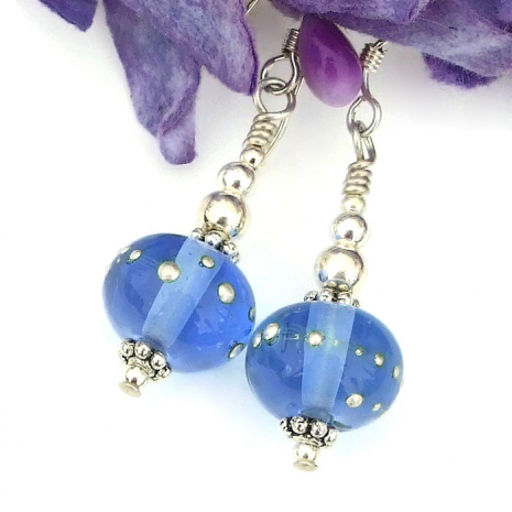 blue jewelry for women
