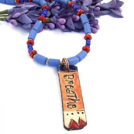 Yoga jewelry gift