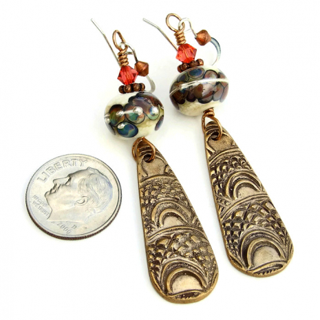 Handmade bronze jewelry for women