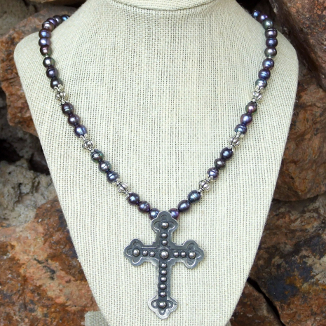 cross necklace for Christian women