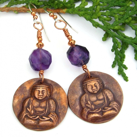 buddha crown chakra dangle jewelry gift for women
