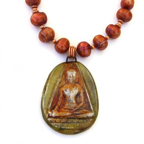 buddha pendant jewelry gift for women