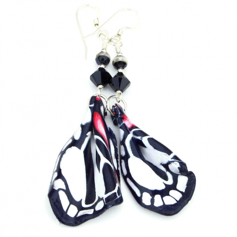 butterfly wings earrings gift for women
