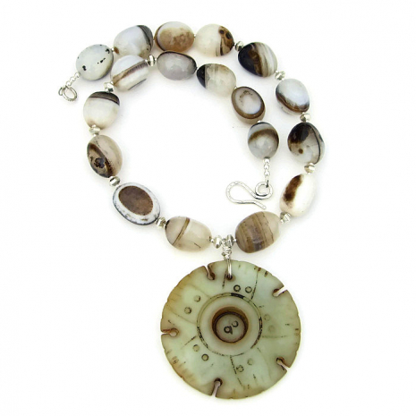 Jade pendant jewelry