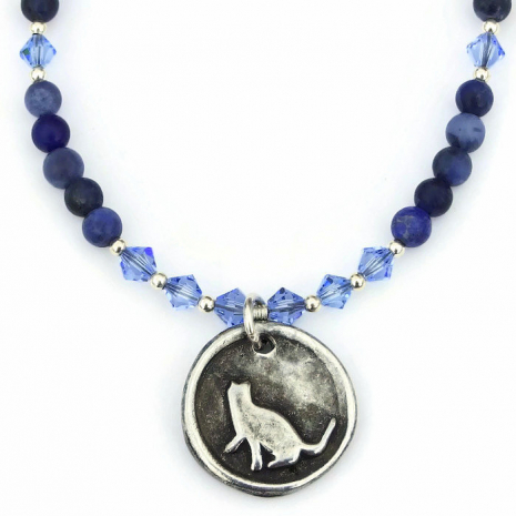 cat jewelry gift idea for women