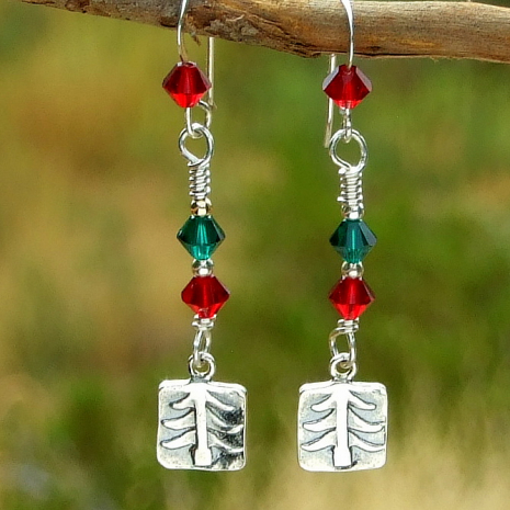 christmas tree jewelry gift for her