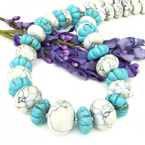 chunky gemstone necklace git for womenf