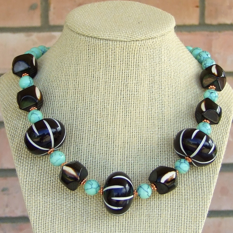 chunky handmade jewelry gift for her