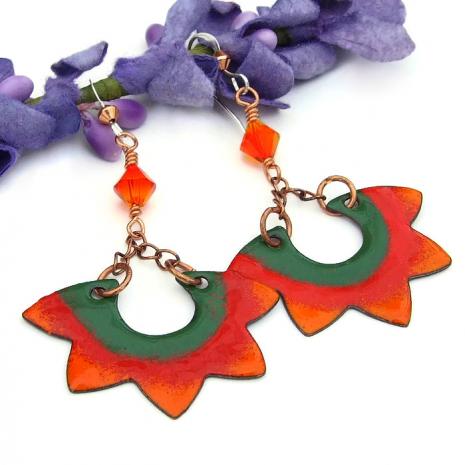 boho sun jewelry for women