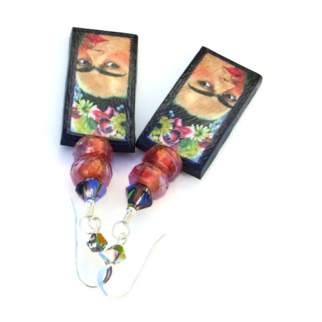 colorful frida kahlo jewelry