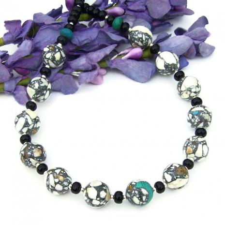 mothers day gemstone necklace gift for mom