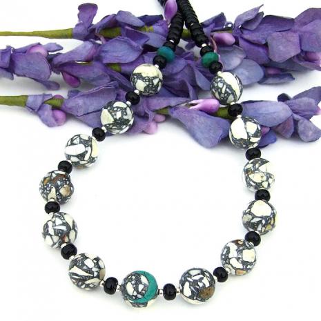 mosaic magnesite jewelry gift for women