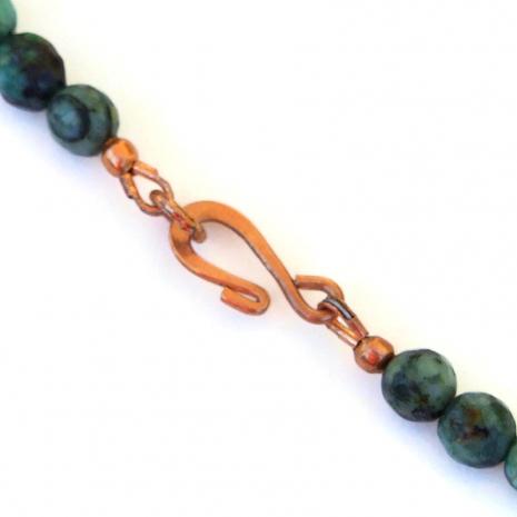 copper hook clasp set