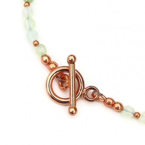 copper toggle clasp set