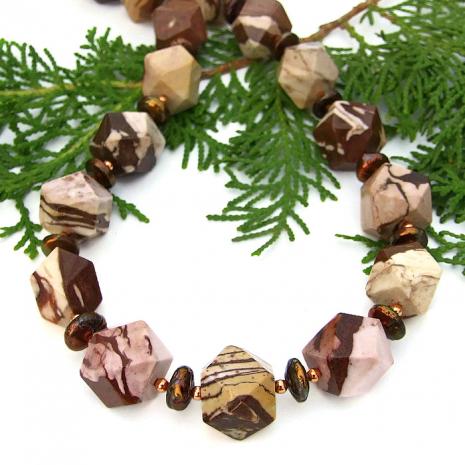 Gemstone necklace - gift idea.