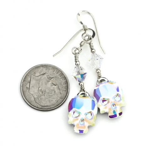 crystal skull jewelry