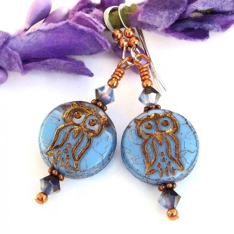owl jewelry gift for women