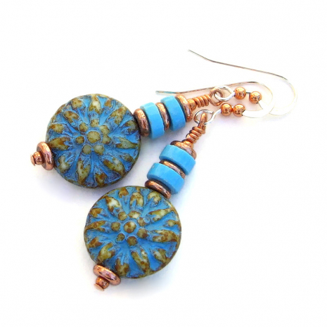 dahlia flower jewelry gift for women