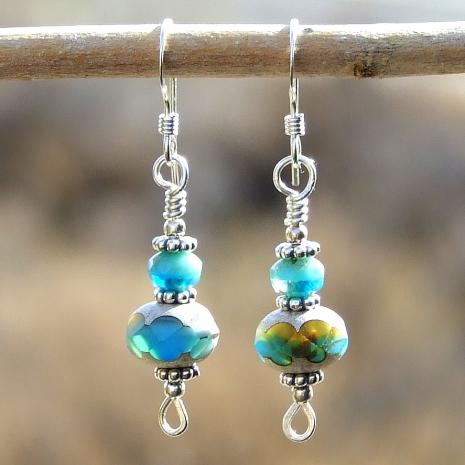 Southwest inspired earrings.