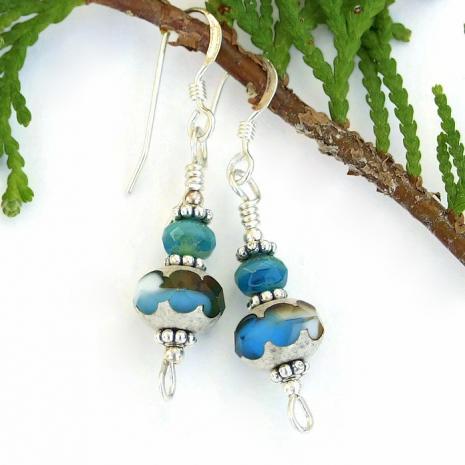 Dangle earrings for women.