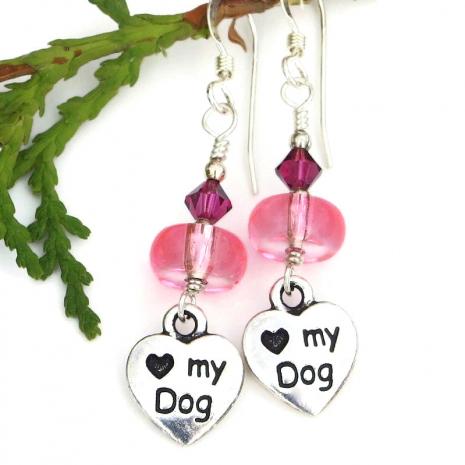 dog earrings for women