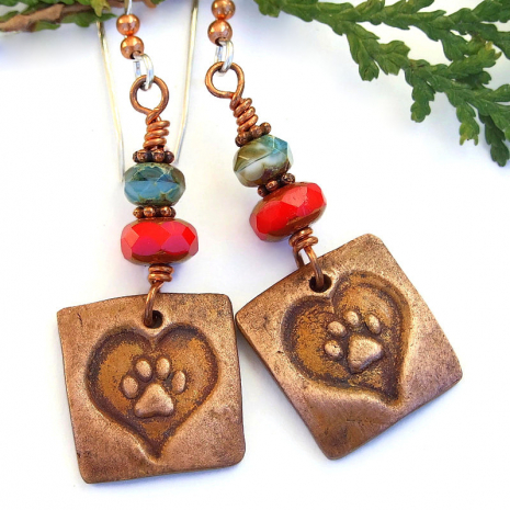 dog lover cat lover handmade jewelry