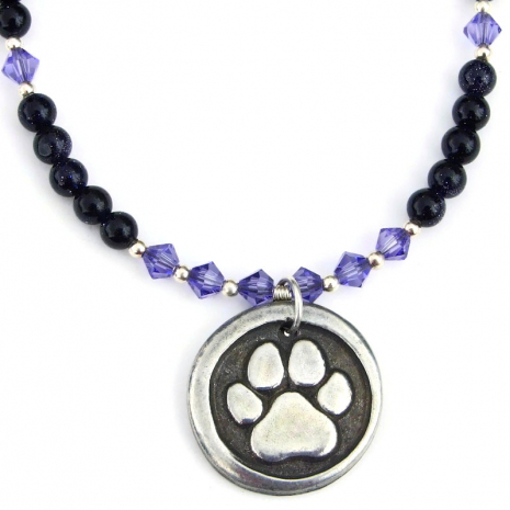 dog lover handmade necklace for her