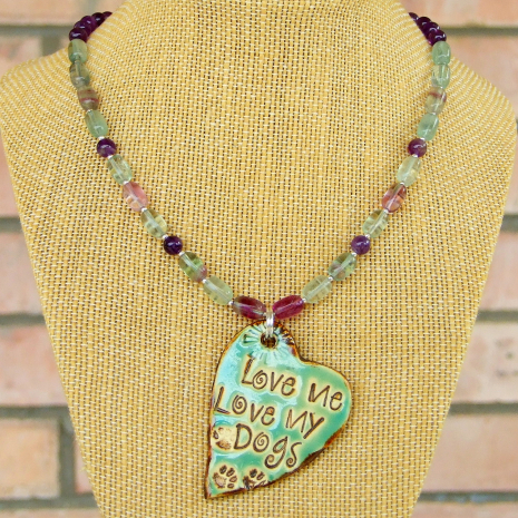dog lover necklace gift for women