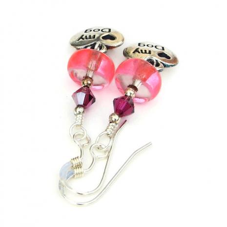 dog rescue earrings jewelry gift