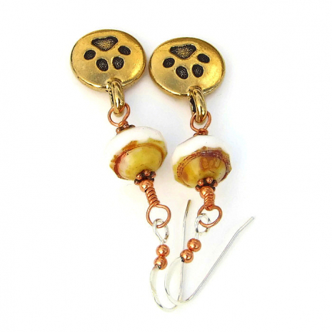 paw print jewelry gift idea for her