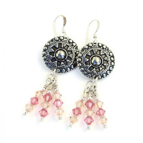 Boho earrings for women.