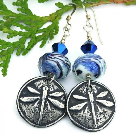 dragonfly earrings for women