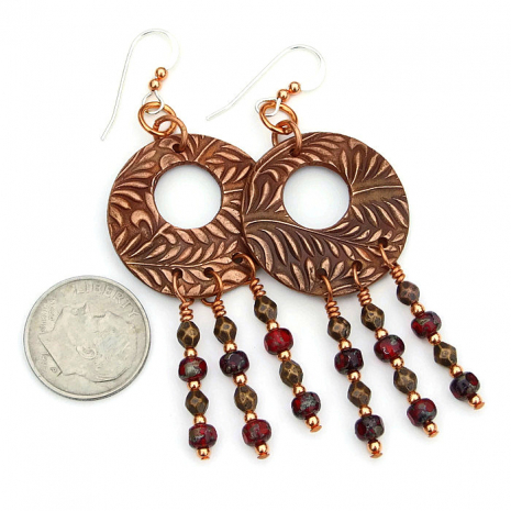 Chandelier earrings for women gift idea
