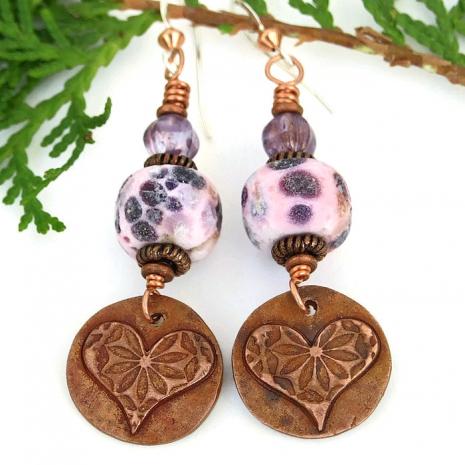 valentines earrings for women