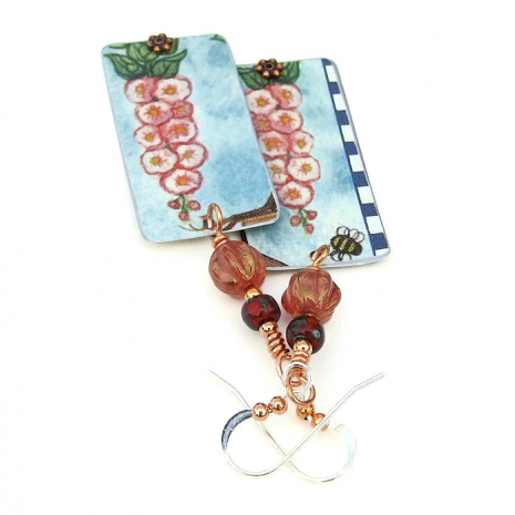 flower jewelry gift for women mothers day