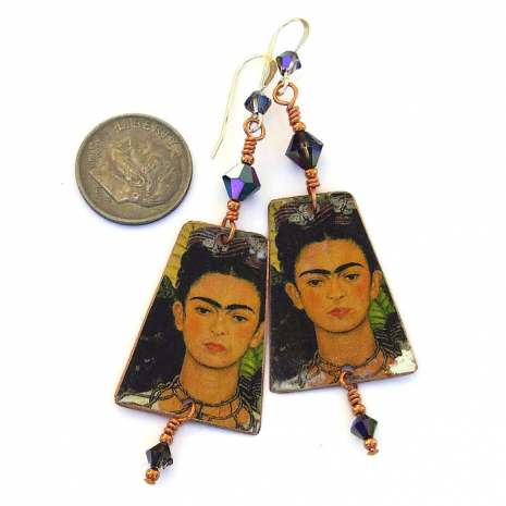 frida earrings for her