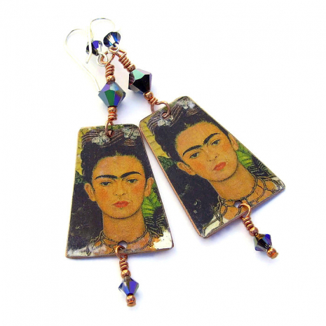 frida kahlo earrings gift for women