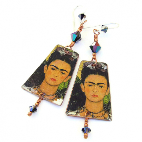 frida kahlo jewelry gift for women