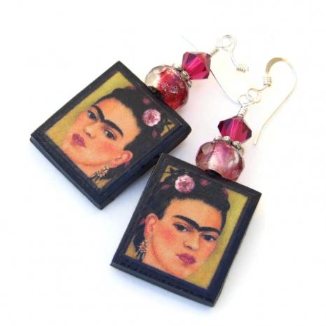 frida kahlo jewelry gift for women